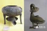 """作为一个西汉的王候,平日里会过着怎么样的生活?海昏侯墓出土的文物给出了很好的答案。在出土的文物中,最具看点的就是,青铜火锅和雁鱼灯。在西汉一般百姓只能吃到两顿饭,火锅这种高级料理只能在贵族家中出现。雁鱼灯则是汉代青铜工艺的代表作,雁鱼灯设计有导烟管,燃料燃烧产生的油烟被灯罩挡住,成为了全世界最早的环保灯具。由此可见,墓主人是一个喜欢吃着火锅唱着歌的""""文艺青年""""。"""