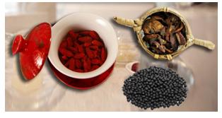肝病患者抗癌食谱:黑豆山楂枸杞饮