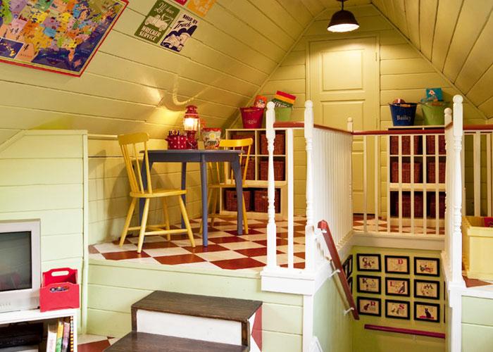 小小阁楼如何变身浪漫空间?