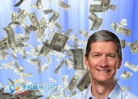 苹果CEO库克去年薪酬居美国CEO之首
