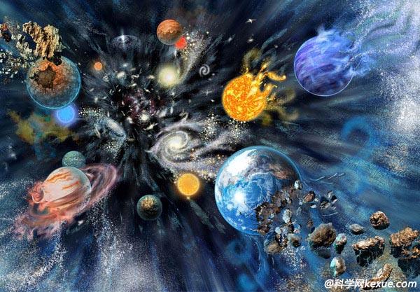 百亿年后宇宙将现大撕裂 太阳地球先后爆炸