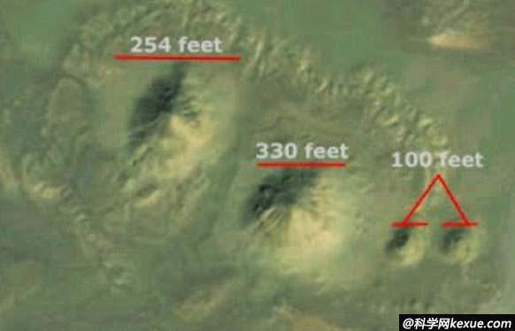 尼罗河沿岸现神秘土堆 或为大规模金字塔群