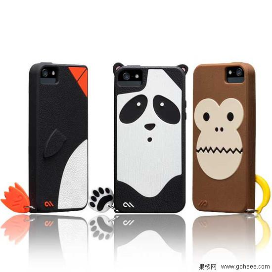卖萌的手机套 iphone 5动物保护套