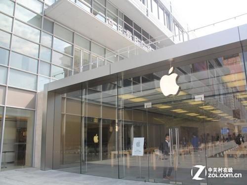 深圳首家广场零售店在益田假日苹果落成优得矮手机图片