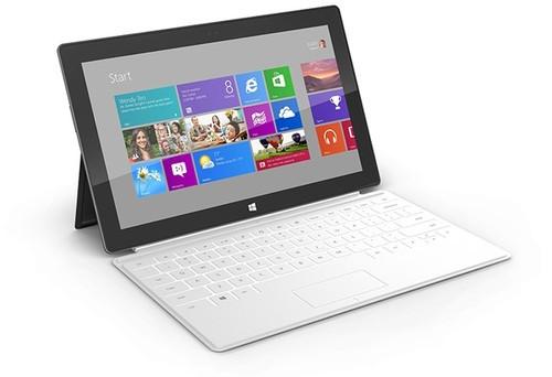 采用X86架构的微软Surface Pro平板电脑(图片来自微软)