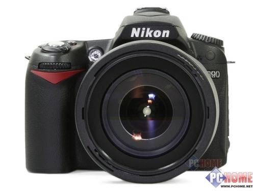 图为:尼康数码单反相机D90-经典廉价单反 尼康D90套机售5450元