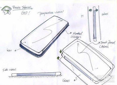 产品设计家电手绘图