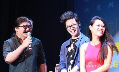 导师刘欢与一众学员