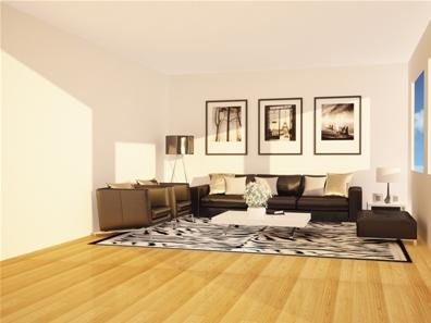 家居最佳配色是墻面顏色淺、地面中間色、家具顏色深。