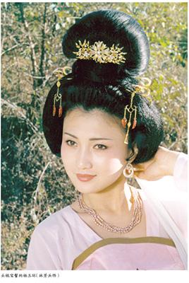 瑶台髻_《唐风流韵》:唐•贵妃影视妆容背后的古典文化_江苏频道_凤凰网