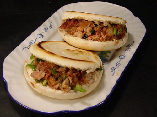 西安腊汁肉夹馍_陕西美食_陕西频道_凤凰网