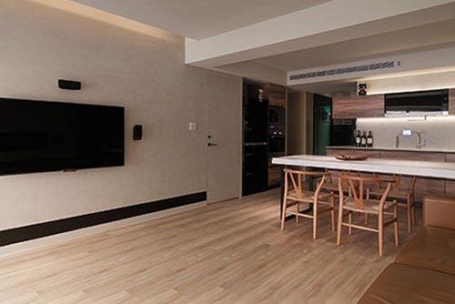 客厅电视墙效果图欣赏