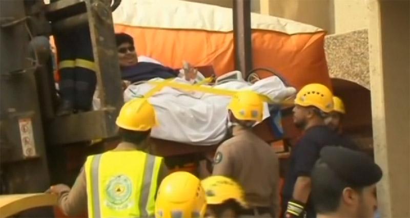 沙特610公斤男子_沙特610公斤男子惊动国王下令医院助其减肥_频道_凤凰网