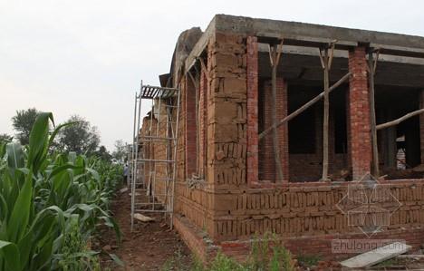 東北農村一層房屋圖片