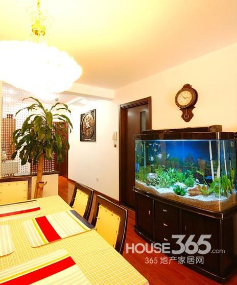 魚缸玄關裝修效果圖打造你的好風水家居(5)
