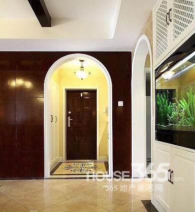 魚缸玄關裝修效果圖 打造你的好風水家居