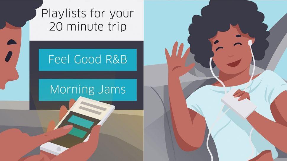 Uber新功能:根據里程或目的地為用戶推送娛樂內容