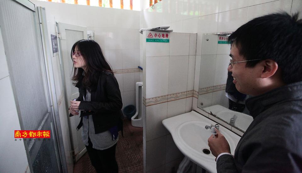 """10岁男孩艺术照_广州女大学生发起""""占领男厕所""""行动_资讯频道_凤凰网"""