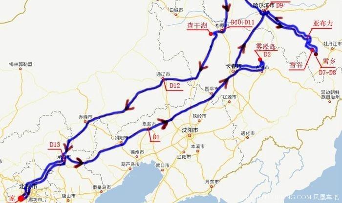 雪乡地图高清全图