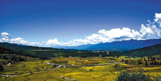 雅居樂原鄉所在的云南騰沖風景如畫
