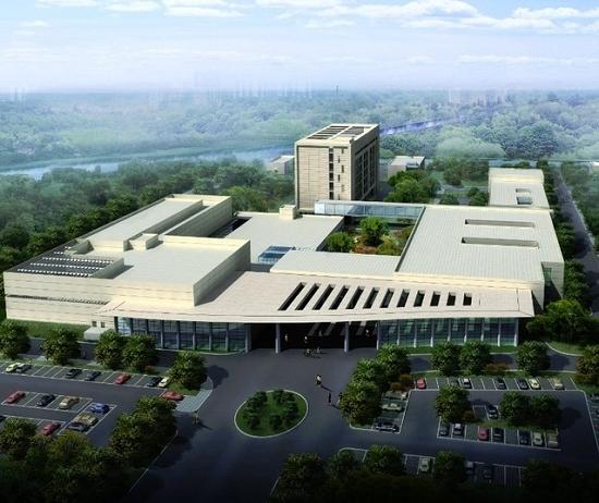 上海市質子重離子醫院效果圖