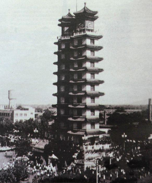 老照片記錄記憶中的老鄭州圖片