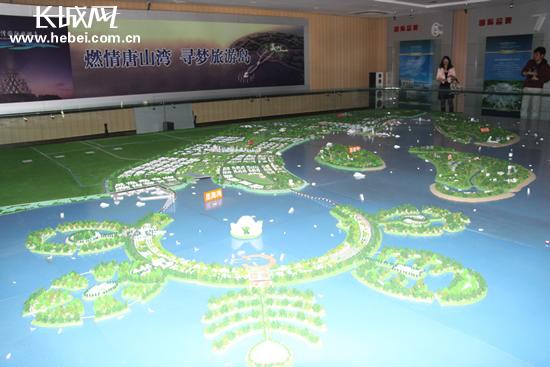 菩提岛位于唐山西南渤海湾之中,隶属于唐山湾国际旅游岛景
