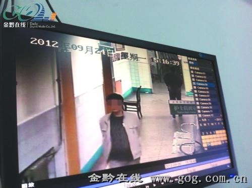 医院视频_多次被盗之后,医院视频监控拍下嫌疑犯 医生护士人手一张\