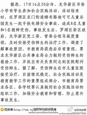 http://y1.ifengimg.com/news_spider/dci_2013/04/fba825cf71a2d9640cbb3e2034581d7d.jpg_深圳小学生电梯中踩踏致9伤3名重伤者或需动手术_资讯频道_凤凰网