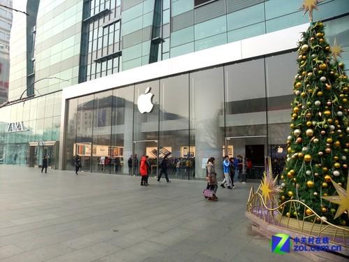 大悦城苹果专卖店_苹果败诉iPad 2下架 北京专卖店称未受影响_科技频道_凤凰网