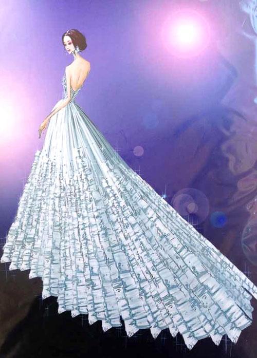 2019婚紗服裝設計大賽